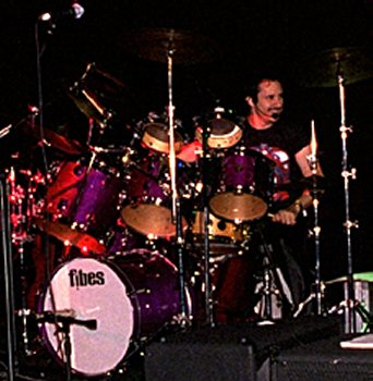 Shaun and Fibes drums